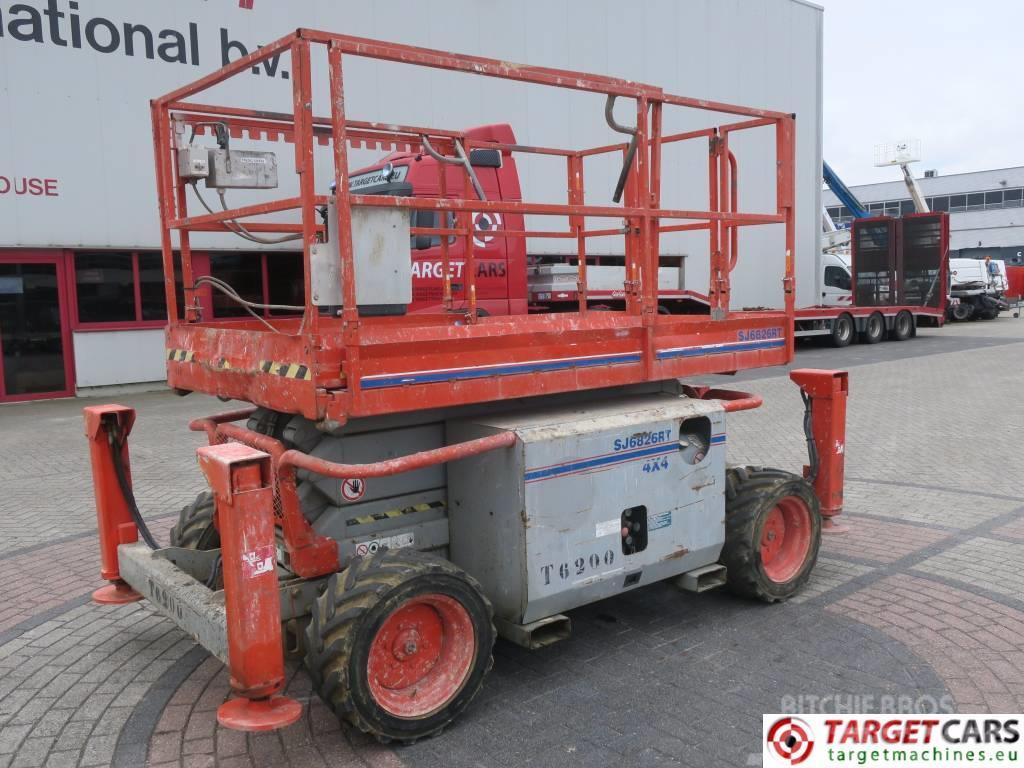 SkyJack SJ6826RT Diesel 4x4 Scissor Worklift 992cm