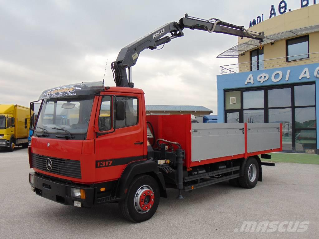 Used mercedes benz 1317 crane trucks year 1998 for sale for Comercial mercedes benz