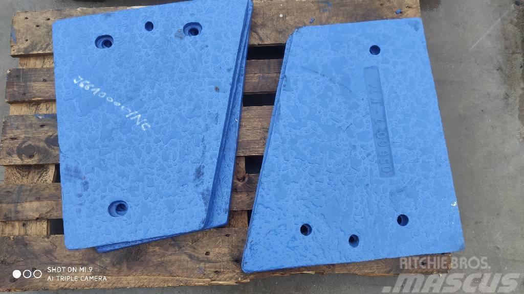 Sandvik Płyta policzkowa C10, QJ240, QJ241