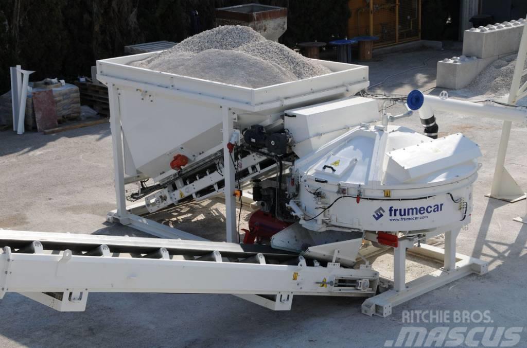 Frumecar Fastmix - compacte mobiele betoncentrale 14-34m³/h