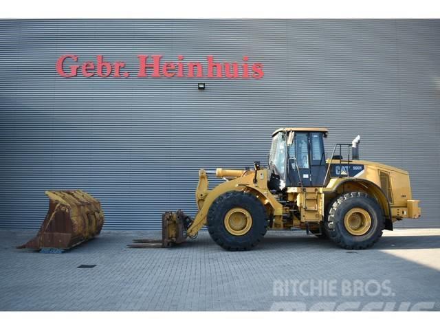 Caterpillar 966H Block Handler 90% Rock Tyres!
