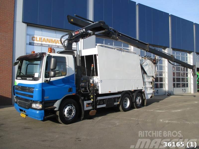 DAF FAN 75 CF 250 Euro 5 Hiab 21 ton/meter laadkraan