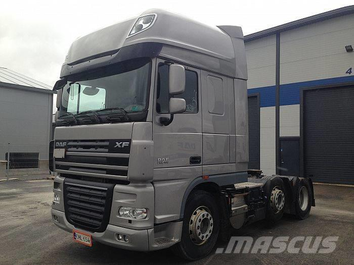 Modernistyczne Used DAF XF105.460 FTG 6x2/4 tractor Units Year: 2010 Price: US BY79