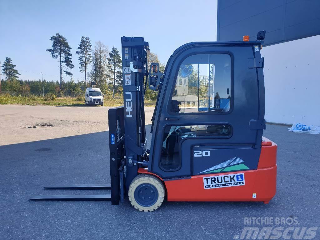 Heli CPD20SQ - 2,0 t el. truck - 4,7 m LH