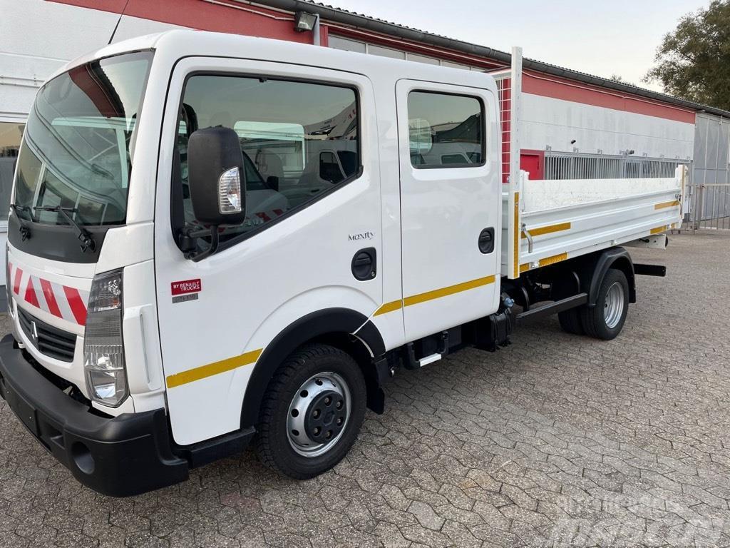 Renault Maxity Doka Alu Kipper 1100 kg Nutzlast!