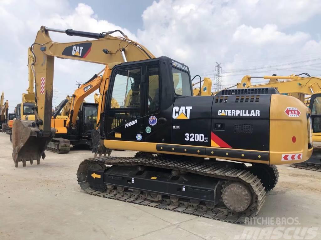 Caterpillar CAT320D  CAT323D履带式挖掘机
