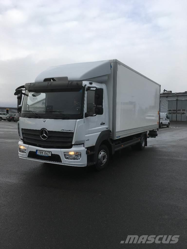 mercedes benz atego 916 occasion prix 70 103 ann e d 39 immatriculation 2017 camion fourgon. Black Bedroom Furniture Sets. Home Design Ideas