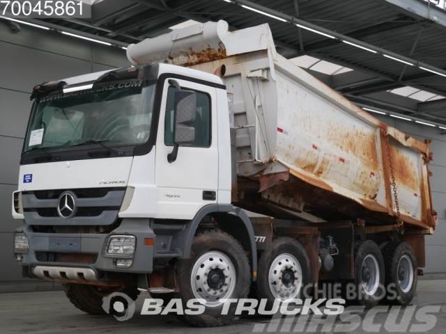 Mercedes-Benz Actros 4844 K 8X4 Retarder Big-Axle Steelsuspensio