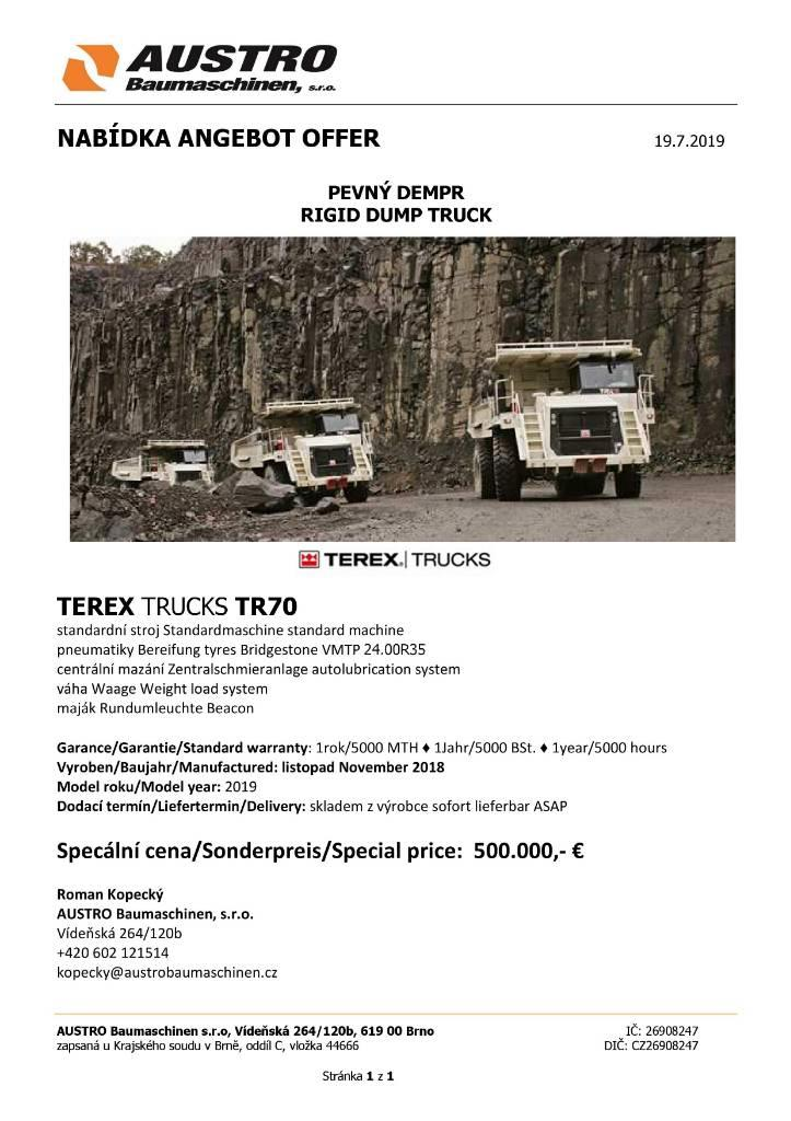 Terex TR 70