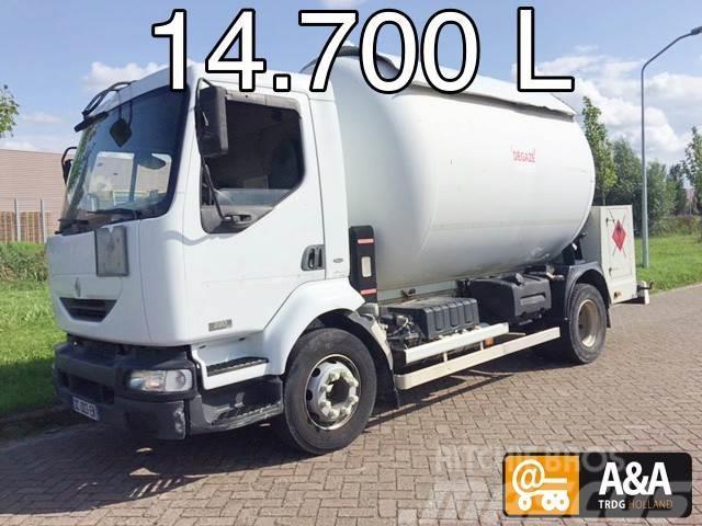 Renault Midlum 220 4x2 LPG GPL PROPANE (BUTANE) GAS GAZ 14