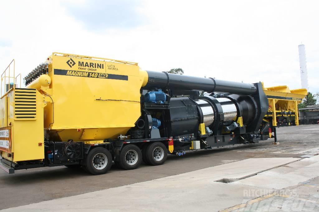 Marini Magnum 140 * mobile asphalt plant