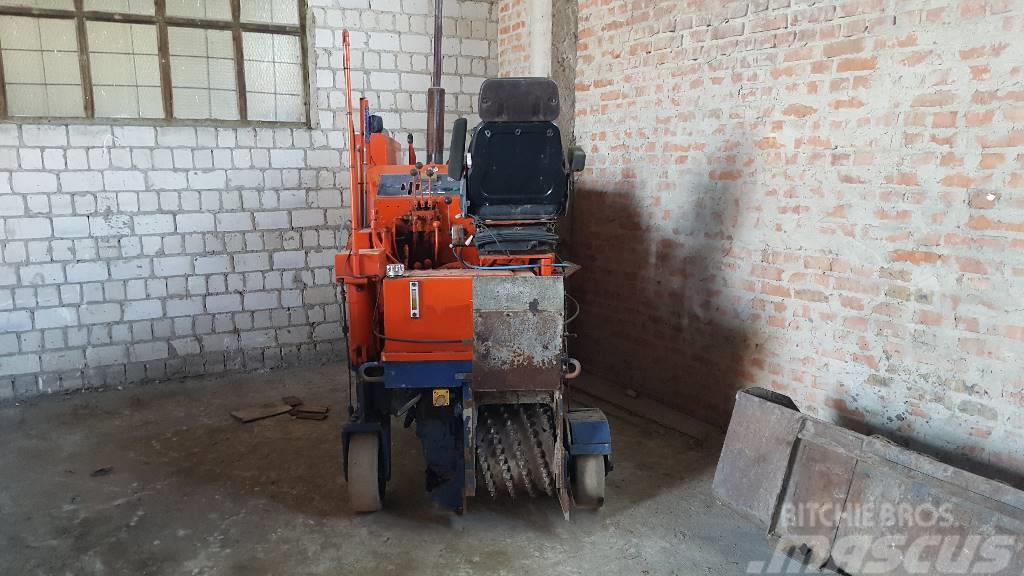 Wirtgen W500, 1986, Asfaltskallfräsmaskiner