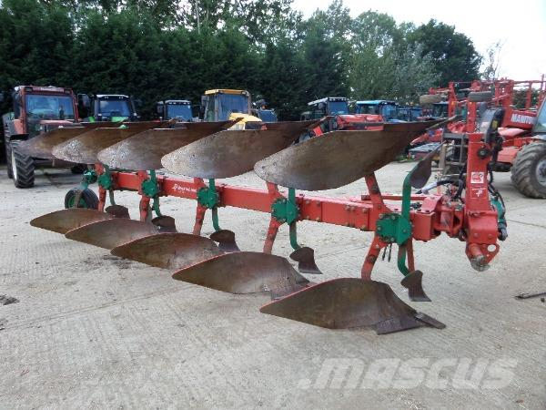 KVERNELAND LD100 5 FURROW REVERSIBLE PLOUGH