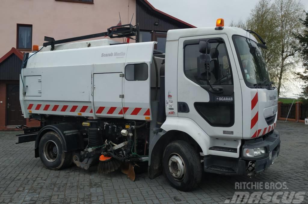 Renault Merlin 220 dCi SCARAB Zamiatarka