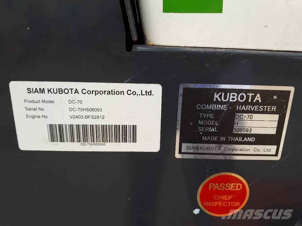 Kubota DC70 C452