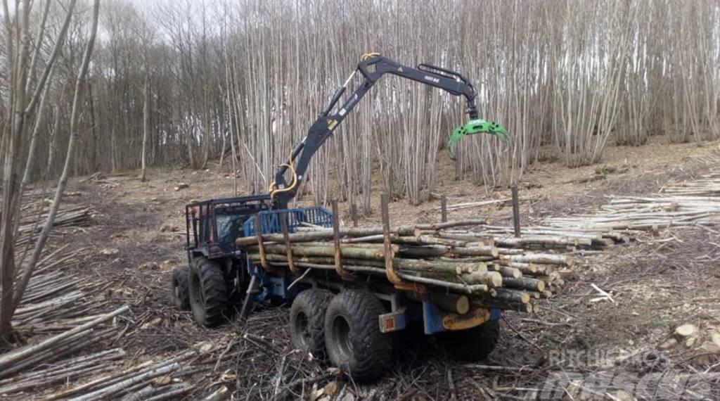 Vreten 1200 Drive timber trailer