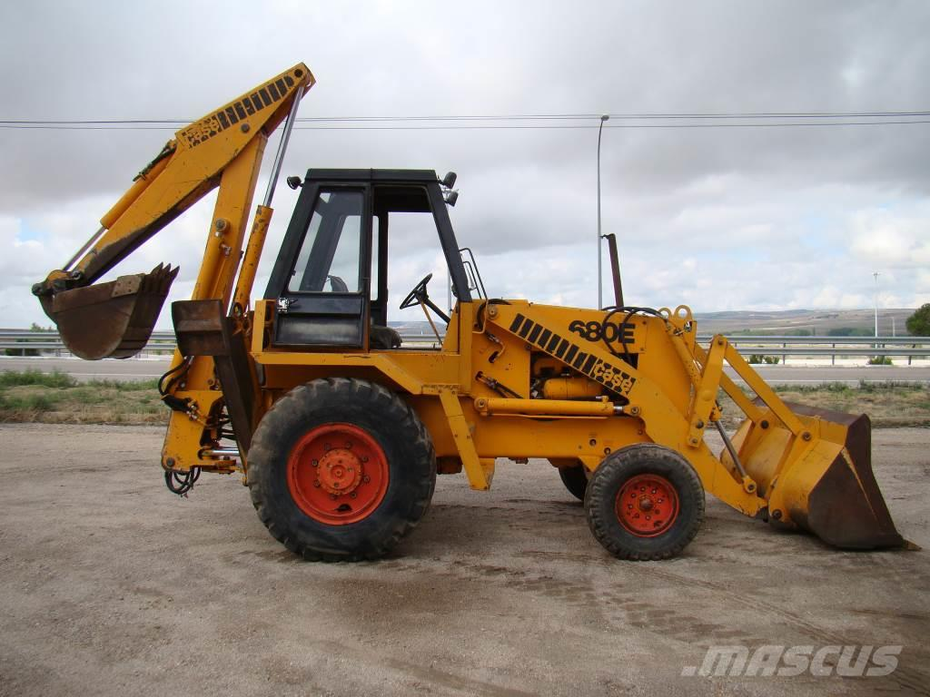 Used case 680 e backhoe loaders year 1979 for sale for Avis e case construction