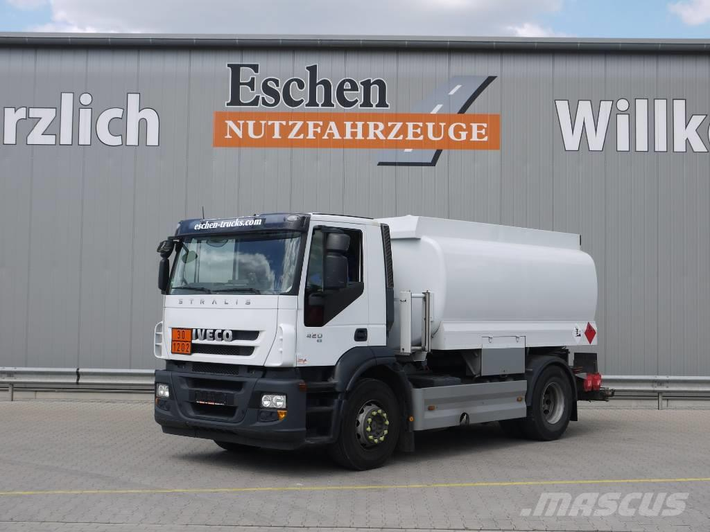 Iveco AD 190S42 Stralis, Lindner & Fischer A3, Euro 5