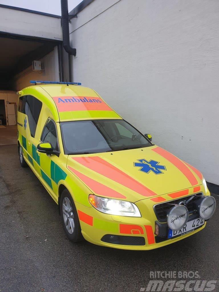 Volvo NILSSON V70 D5 AWD AMBULANCE/Ambulans - RESERVERAD