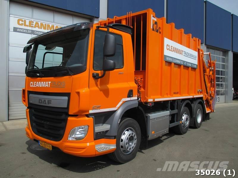 DAF FAG CF 290 Welvaarts weighting system