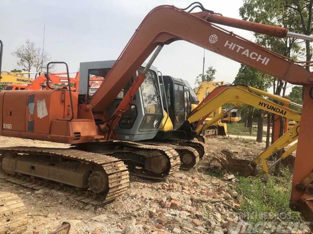 Hitachi EX60-3  EX60-5履带式挖掘机