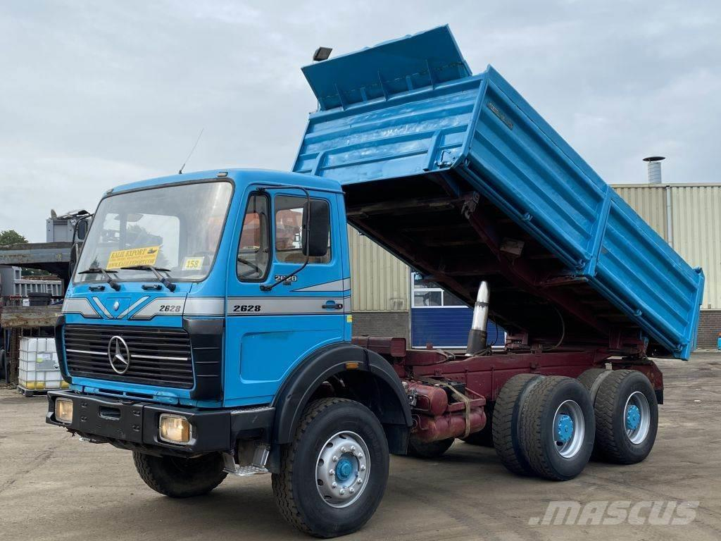 Mercedes-Benz 2628 Kipper 6x4 V8 ZF 13T. Axle Good Condition
