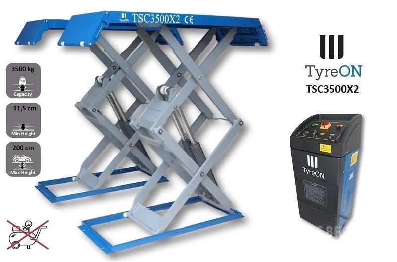 TyreOn TSC3500X2 | Full rise scissor lift | 3500 KG