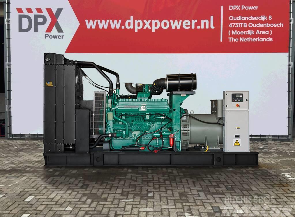 Cummins QST30-G4 - 1.100 kVA Generator - DPX-15520