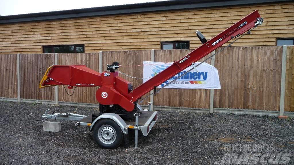 Remet CNC BRANCH LOGGER, RPS-120 + trailer