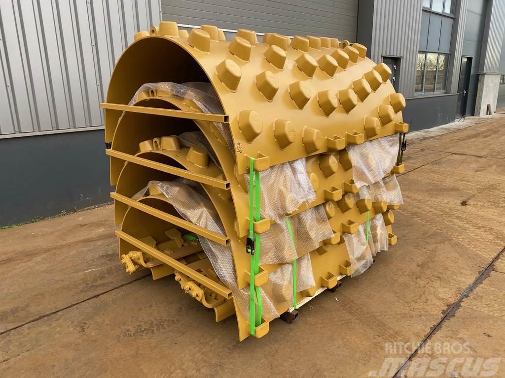 Caterpillar B-series Padfoot-roller shell kits