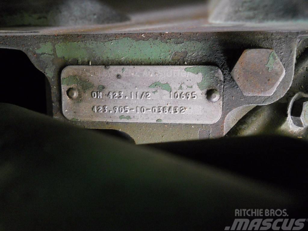 Mercedes-Benz OM423 / OM 423, Motorer