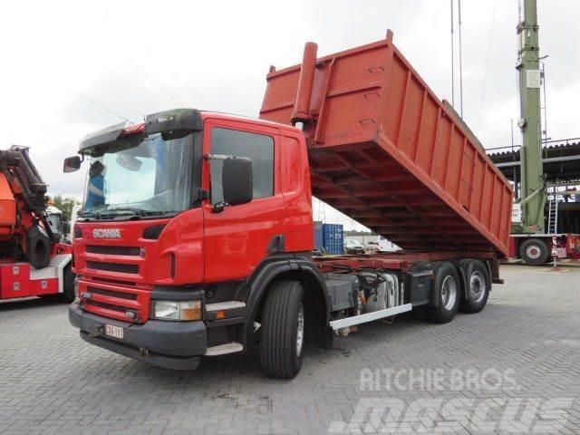 Scania P 380 6x2 kipper 21 m3