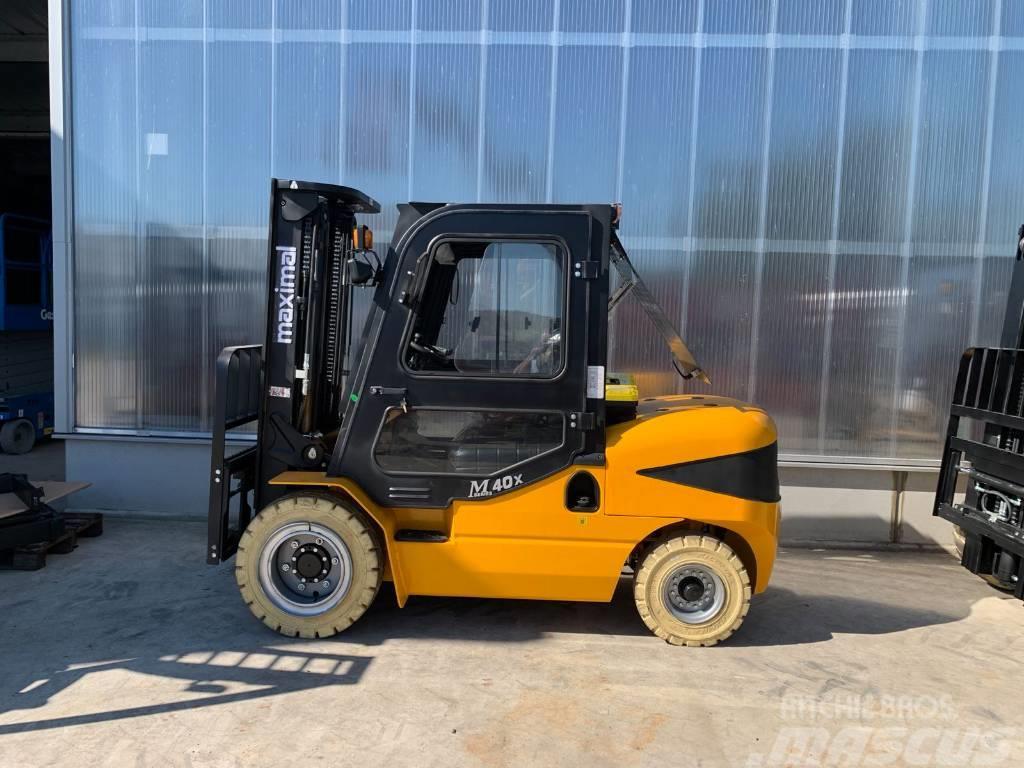 Maximal FD40T-M, 4 ton fork lift diesel, Triplex