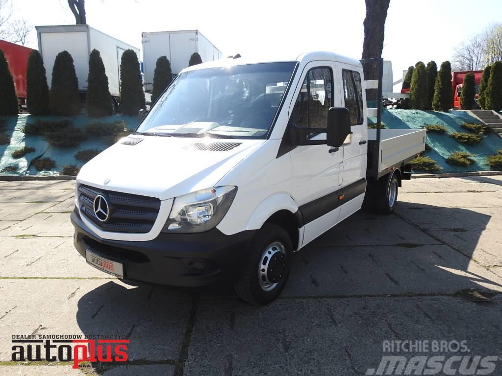 Mercedes-Benz SPRINTER 516 STAKE BODY DOKA 6 SEATS