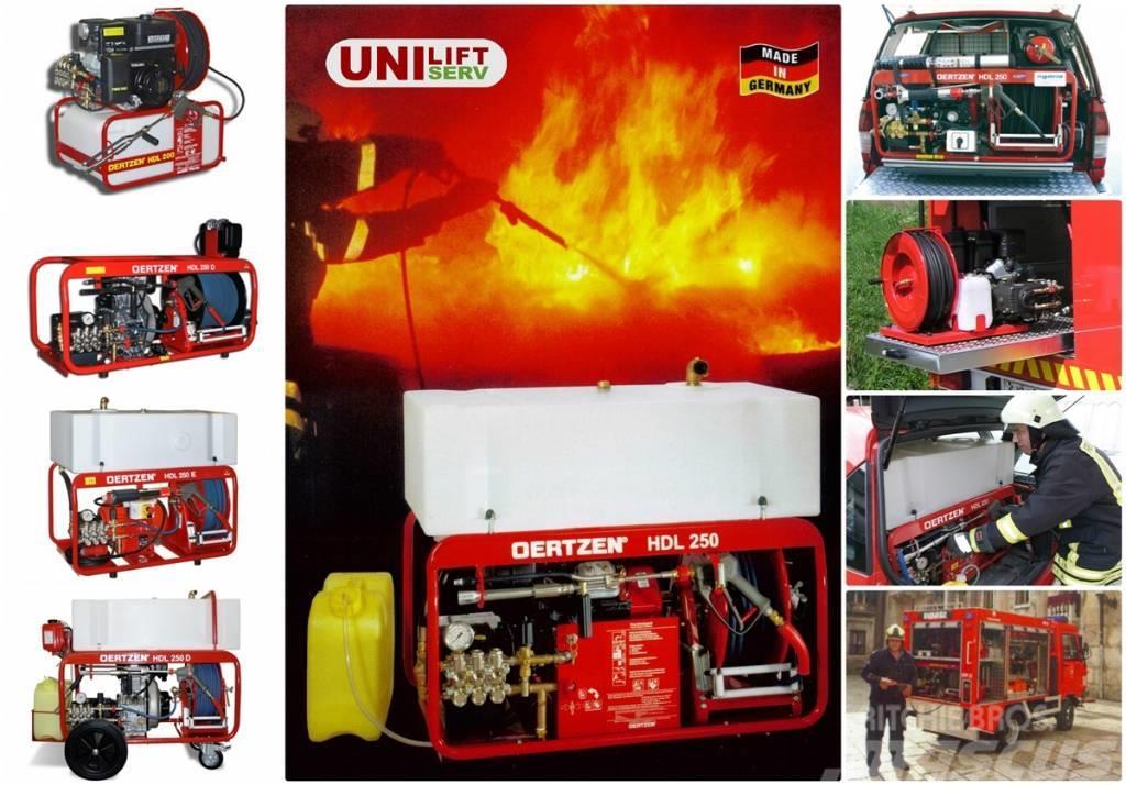 Oertzen Stingator mobil de incendii, cu presiune