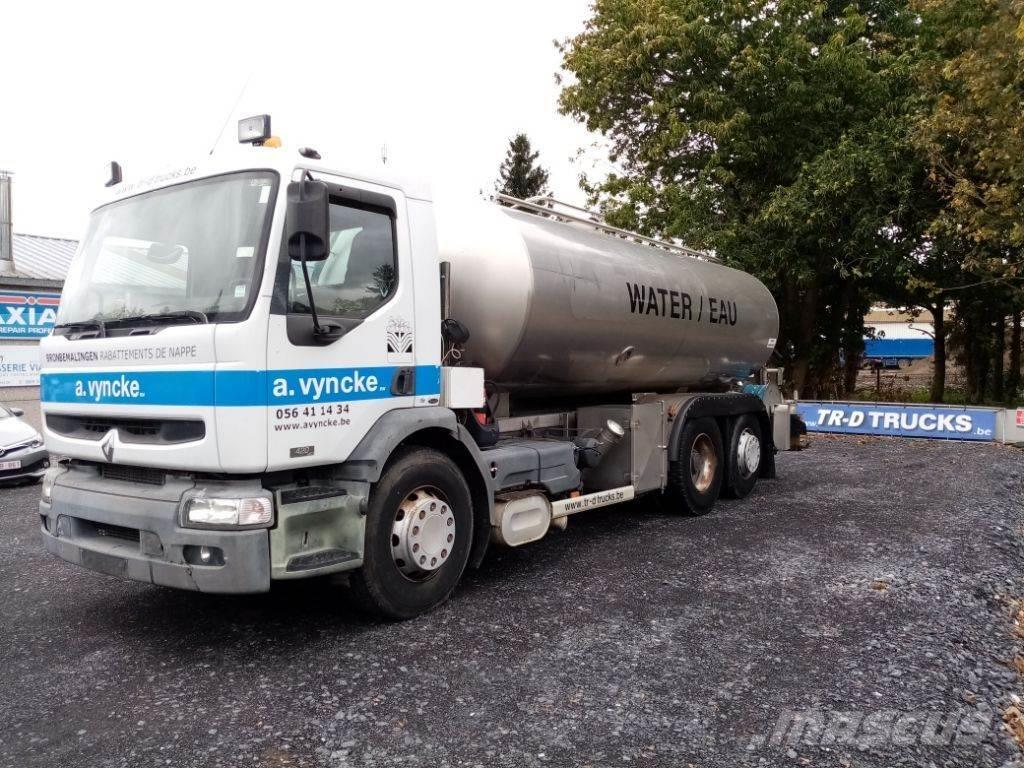 Renault PREMIUM 420 DCI 6x2 WATER TANK!