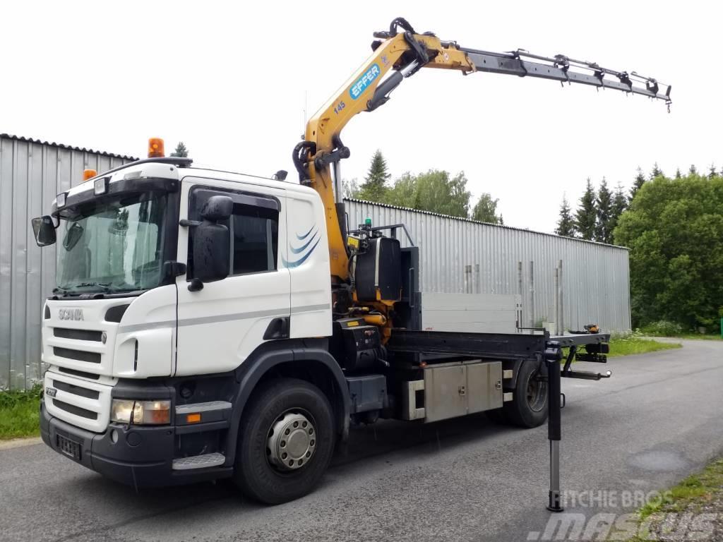 Scania P270 4X2 EFFER 14,5 CRANE