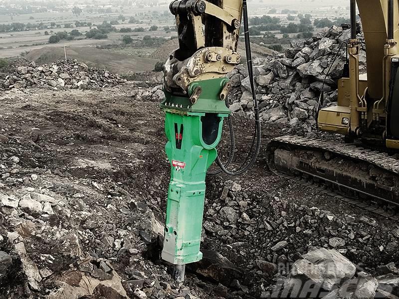 Montabert Hydraulikhammer V55 | Abbruchhammer 35 - 50 t