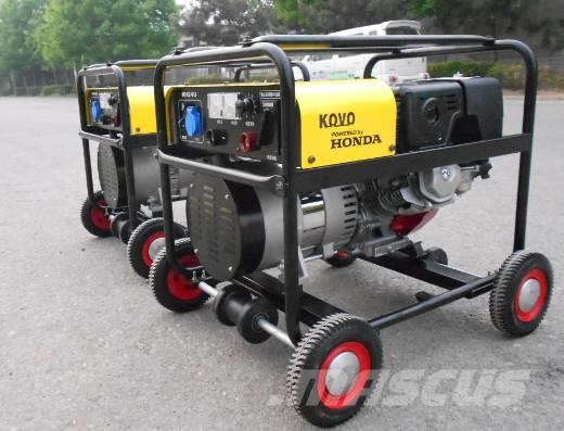 Kovo HONDA GX390 powered portable welder EW240G