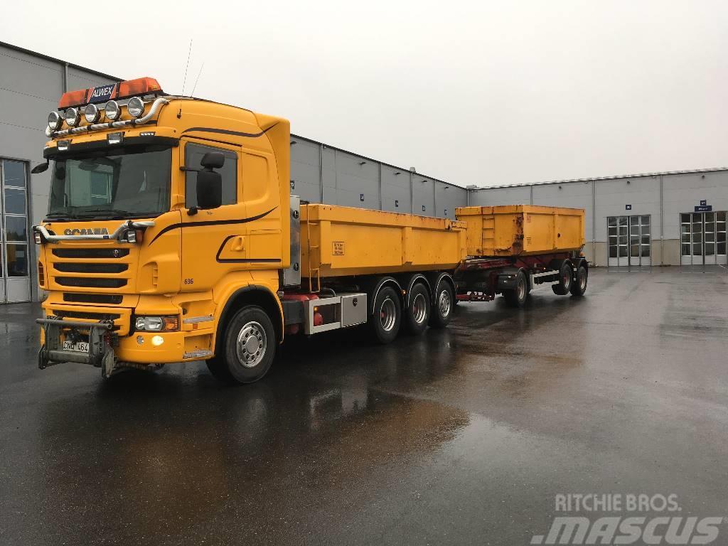 Scania R560 8x4*4 Kassett
