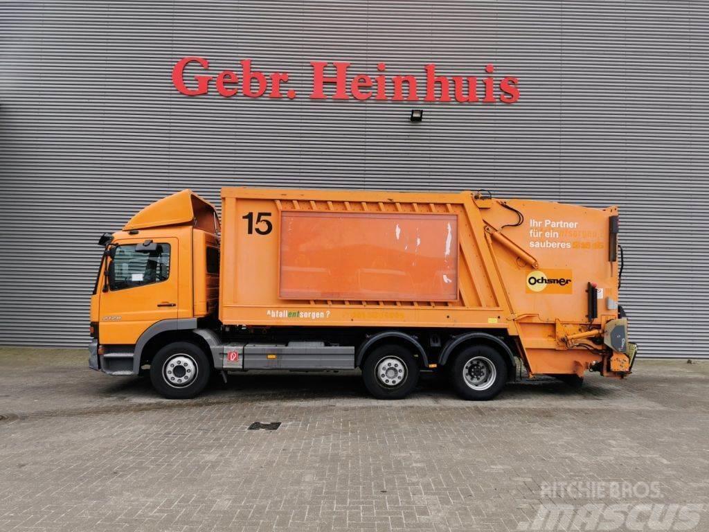 Mercedes-Benz Atego 2128 6x2 Faun Variopress 317-20