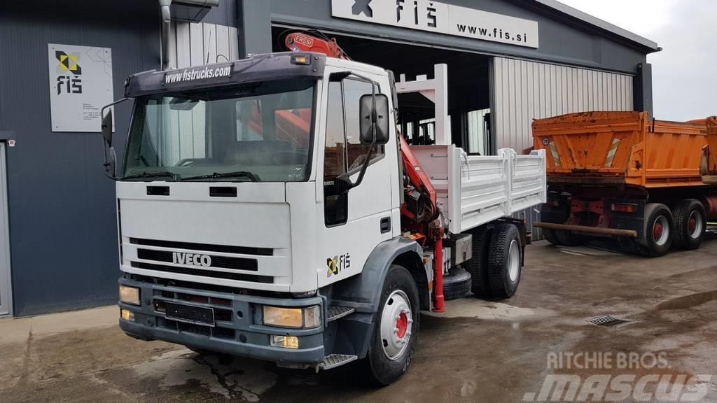 Iveco EUROCARGO 150E18K + crane FASSI F110.A22