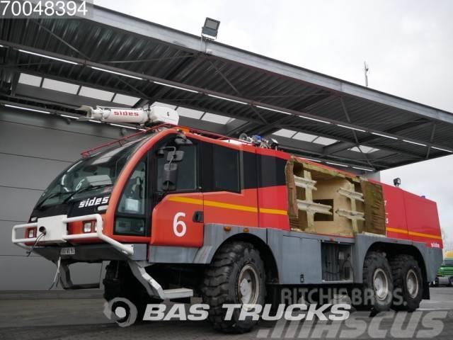 Mercedes-Benz Crashtender Sides Airport Fire Truck 6X6 Damage -