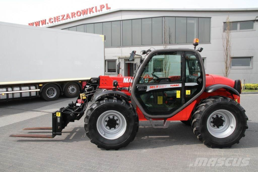 Manitou TELESCOPIC LOADER MLT627T TURBO 5.5 M