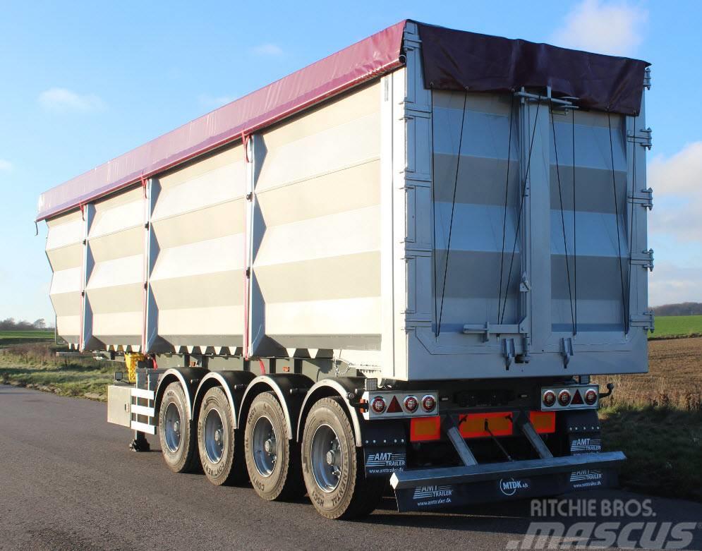 AMT 4 akslet 69m3 skrot trailer