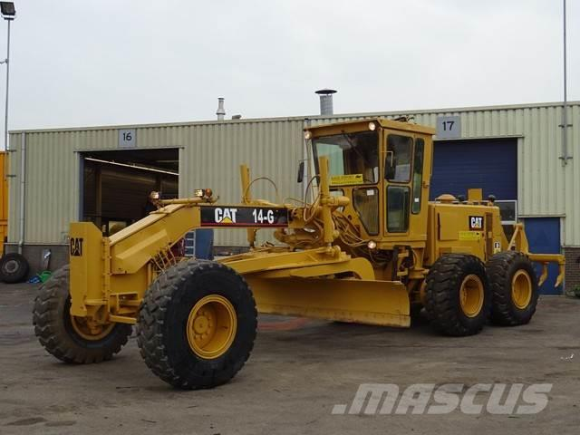 Caterpillar 14G Grader + Ripper Good Condition