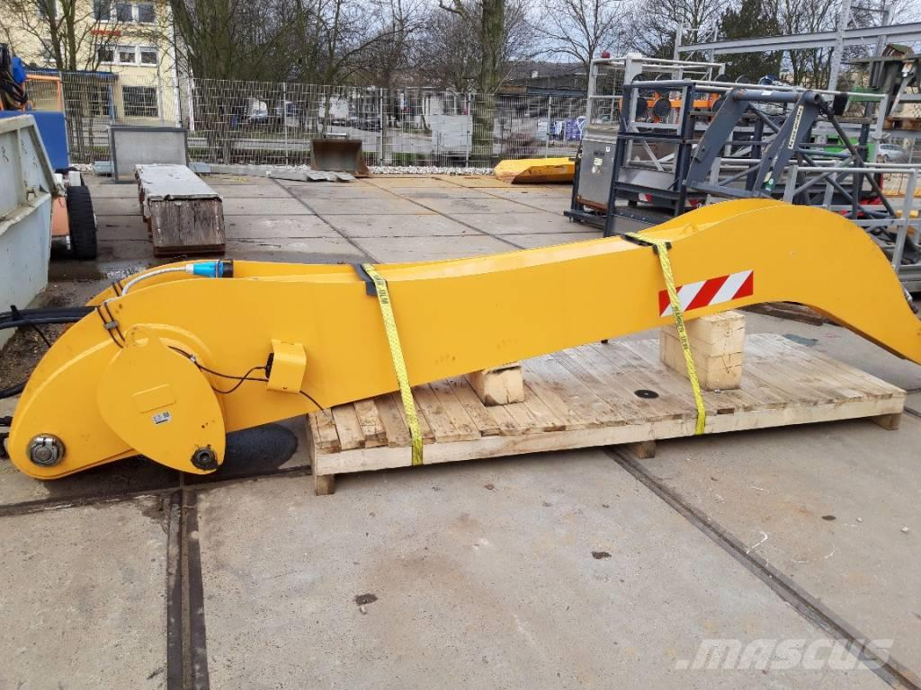 Liebherr Industriestiel 5000 mm, Steilende abgewinkelt
