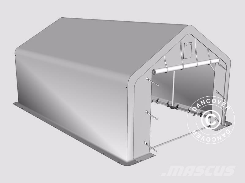Shelter Storage Cover All : Used dancover storage shelter x m pvc telthal other