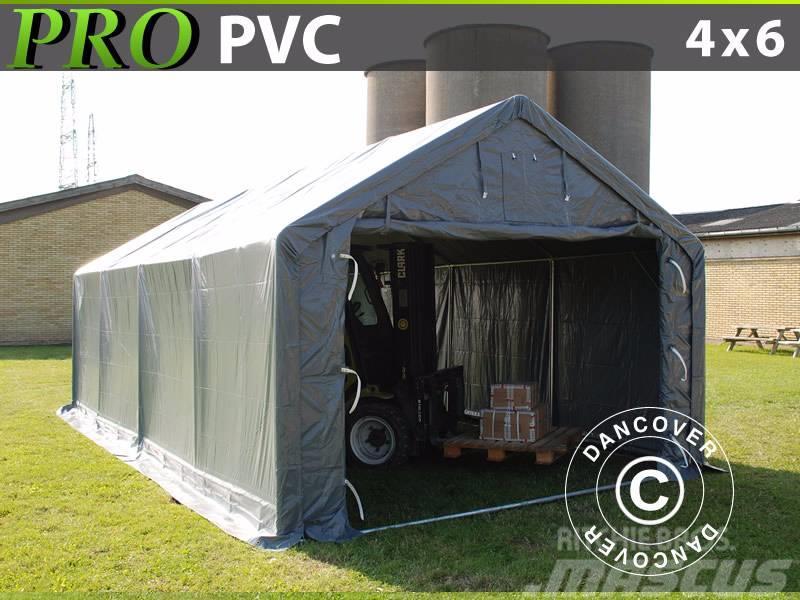 Dancover Storage Shelter 4x6x2x3,1m PVC Telthal