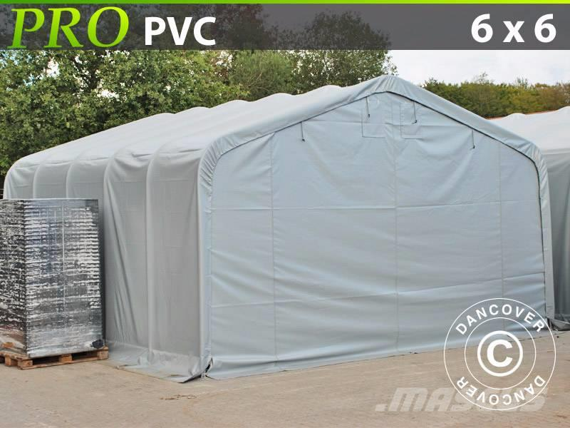 Dancover Storage Shelter 6x6x3,7m PVC Lagerhal